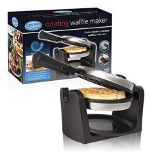 Quest Twin Two Slice Stainless Steel Waffle Maker Iron, 1000 W