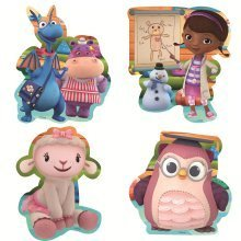 Disney Doc Mcstuffins Bath Puzzles (2 - 4 Pieces)