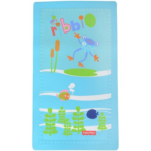 East Coast Fisher Price Temperature Change Bath Mat - Froggy Friends