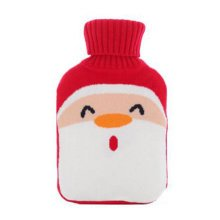 Warm Cute Hot-Water Bottle Water Bag Water Injection Handwarmer Pocket Cozy Comfort,A