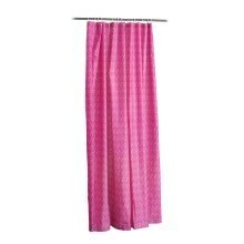 Mosaic Shower Curtain - Hot Pink