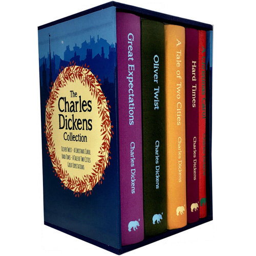 Charles Dickens 5 Books Collection Set