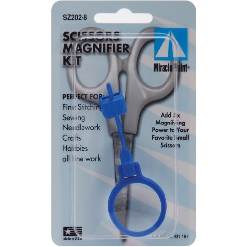 Miracle Point Scissor Magnifier-