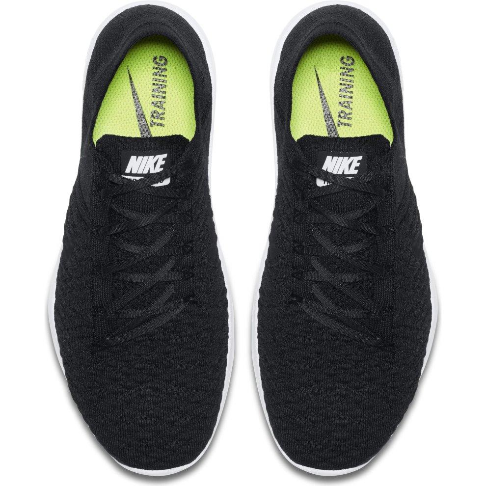 1c2a918d1fa7 ... Womens Nike Free TR Flyknit 2 Gym Trainers Black - 2 ...