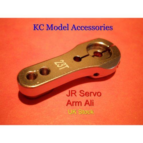 JR Servo Arm Aluminium 23Teeth Heavy Duty Aluminium Good Quality