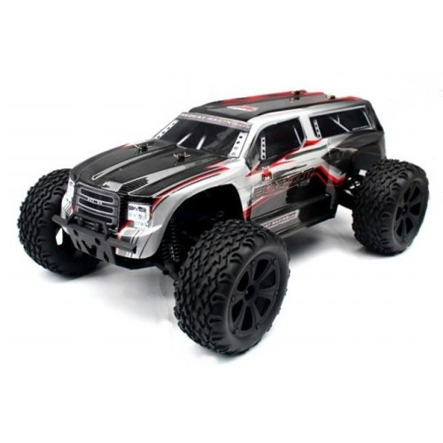Blackout XTE Scale Electric Monster Truck - Silver