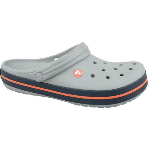 Crocs Crocband 11016-01U Mens Grey slides