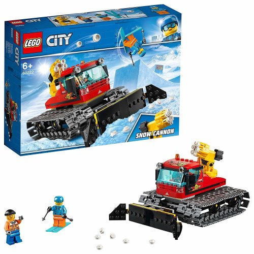 Lego City 60222 Great Vehicles Snow Groomer Plough Set