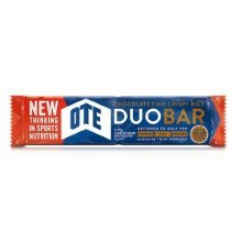 Ote Duo Energy Bar 24 x 65g (chocolate Chip) - Chocolate Chip -  ote duo energy bar x 65g 24 chocolate chip cyclingtrainingexercise protein carbs