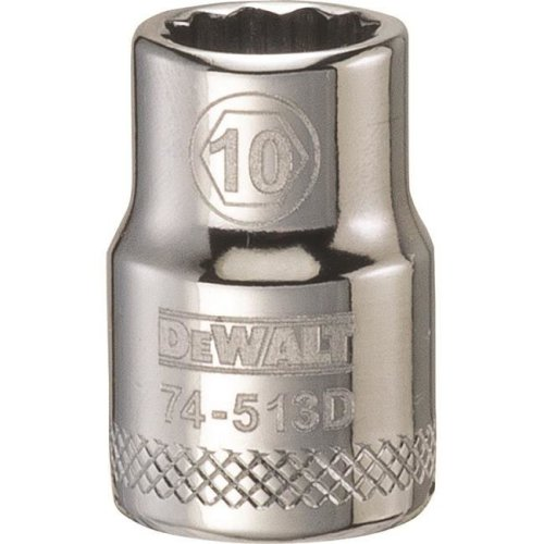 Stanley Tools 227921 10mm 12 Point Socket - 0.37 in. Drive