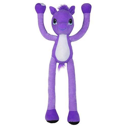 Stretchkins Pony Plush Toy (Purple)
