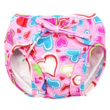 Reusable Swim Diaper Adjustable Absorbent Shower Diapers for Baby Toddler, A04
