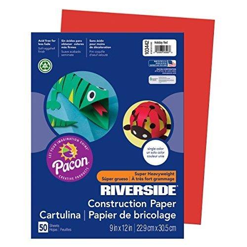 Pacon Riverside Construction Paper