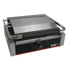 KuKoo Grooved Panini Press Ribbed Contact Grill Toaster Sandwich Maker
