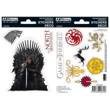 Game of Thrones - Stark Throne and Sigils Stickers