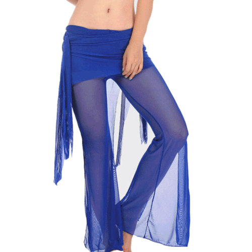 Deep Blue Belly Dance Tribal Pants Belly dance costume