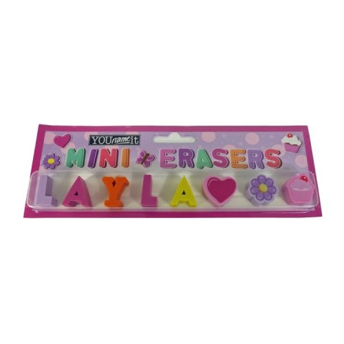 Childrens Mini Erasers - Layla