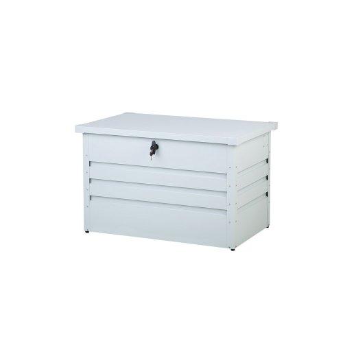 Garden Storage Box 100 x 62 cm Off White CEBROSA
