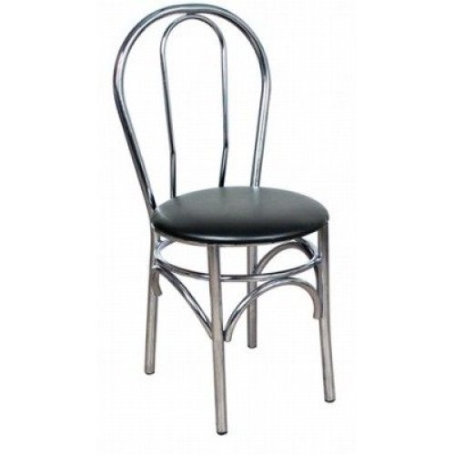 Ella Kitchen Dining Chair Chrome Frame Padded Seat