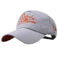 No Shave Baseball Cap Adjustable Sun Hat Cool Baseball Hats for Men Gray