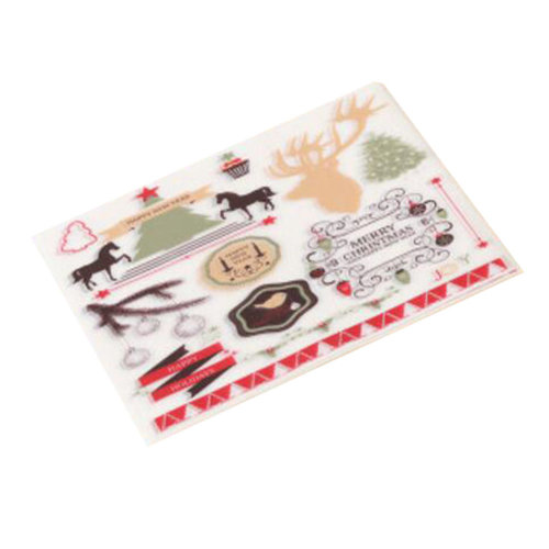 500 Pcs Christmas Nougat Making Supplies Wedding Candy Wrapping Twisting Wax Papers -A13
