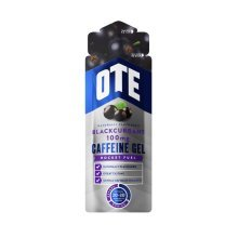 Ote 100mg Caffeine Gel 20 x 56g (blackcurrant) - Blackcurrant Cycling Training -  ote caffeine gel blackcurrant 20 x 56g cycling training exercise