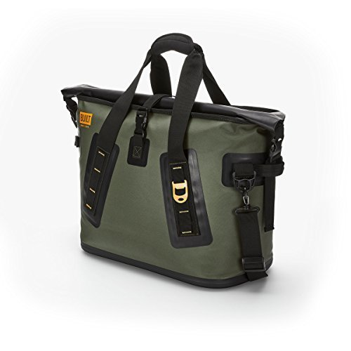 Built NY 5213958 Large Welded Insulated Leak Proof Soft Cooler Bag with Wide Mouth Opening Olive