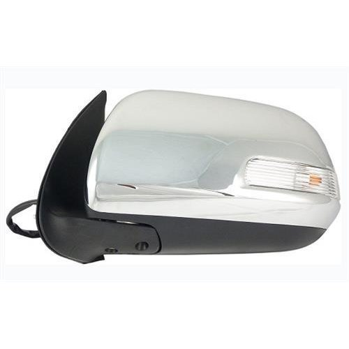 Toyota Hilux Pick Up 2012-2016 Door Mirror Electric Manual Fold Type With Chrome Cover Passenger Side L