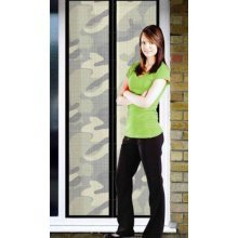 Camouflage Magic Curtain Door Mesh Bug Insect Screen