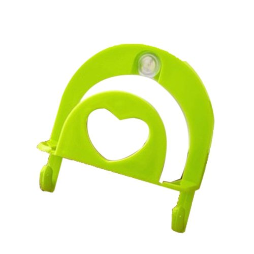 Set of 4 Practical/Useful/High-quality Dishwashing Sponge Holder, Green