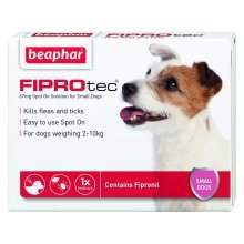 Beaphar Fiprotec Flea & Tick Spot On Treatment for Dogs