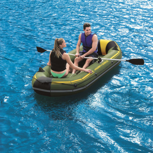 Bestway Hydro-Force Inflatable Raft Marine Pro with Hand Pump 65096