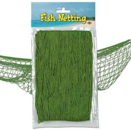 Fish Netting 4 X 12Ft Green
