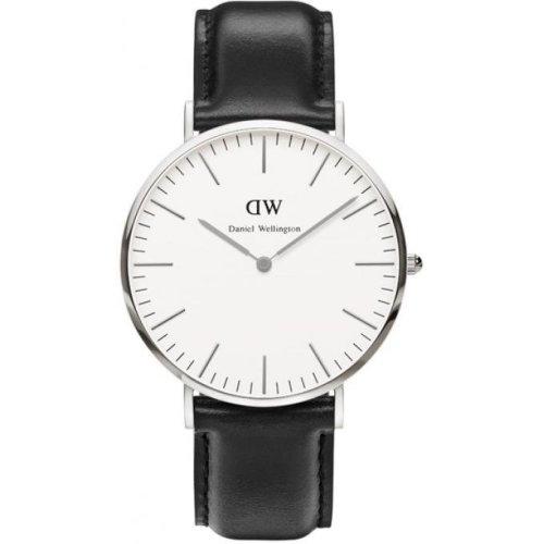 Daniel Wellington DW00100020 Watch Black Leather Man