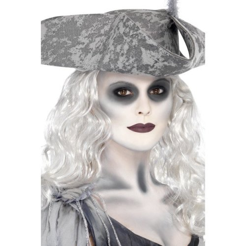 Black & White Ghost Ship Make Up Kit - Pirate Halloween Fancy Dress Paint Face -  ghost make up ship pirate halloween fancy dress paint kit face