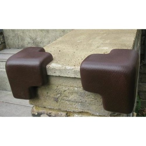 Ezy Outdoor Edge Guards Child Safety Concrete Corners in Brown