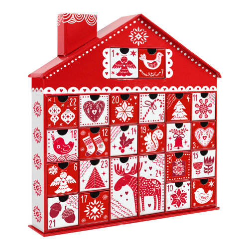3D Advent Calendar - Christmas Nordic House