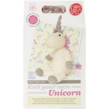 The Crafty Kit Co. Knitting Kit-Unicorn
