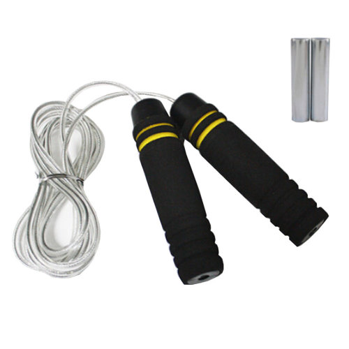 Jump Rope for Exercise,Athletic Speed Rope Rubber Rope With Bear Load 3M Yellow