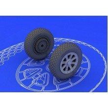 Edb648102 - Eduard Brassin 1:48 - F6f Wheels (eduard)