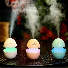 Ultrasonic Air Humidifier Mist Maker Aromatherapy Diffuser Air Freshener Fogger LED Lamp Night Light