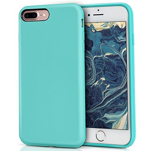 check out e6323 4415a iPhone 8 Plus Silicone Case, iPhone 7 Plus silicone case, MILPROX Pretty  Series Liquid Silicone Gel Rubber Shockproof Case with Microfiber Cloth...