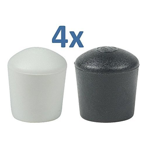 Domed Furniture Feet Ferrule Caps Stoppers In Many Sizes Colours By Lifeswonderful