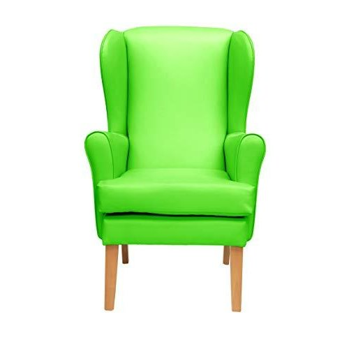 MAWCARE Morecombe Orthopaedic High Seat Chair - 19 x 18 Inches [Height x Width] in Manhattan Lime (lc21-Morecombe_m)