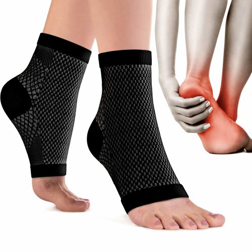 06d0f4ce24 Plantar Fasciitis Socks (Pair) for Men & Women - BEST 24/7 Arch Support  Socks - Ankle Compression Foot Sleeves for Heel Pain Relief - Wash Well  &... on ...