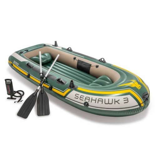 Intex 68380 Seahawk 3 Inflatable Boat for Three People