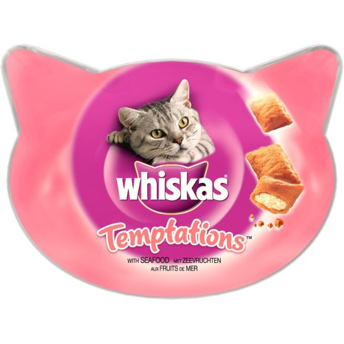 Whiskas C&t Temptations Seafood 60g (Pack of 8)