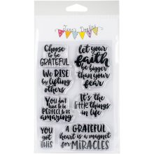 "Jane's Doodles Clear Stamps 4""X6""-You Got This"