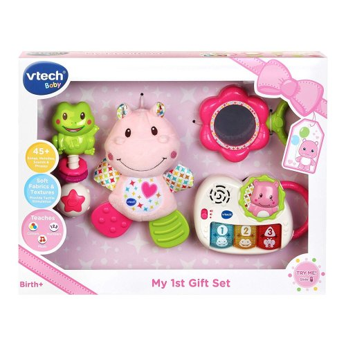 Vtech My 1st Gift Set Newborn Necessities Pink