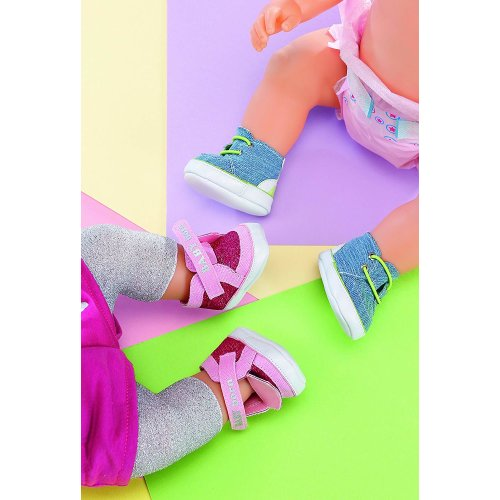 Baby Born Jeans Sneakers (Styles Vary, One Pair Supplied)